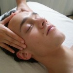 Massage de la tête