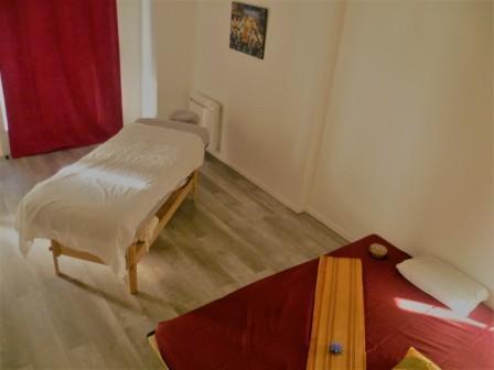 la salle de massage